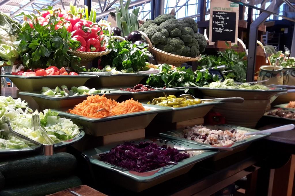 Salattheke Marché