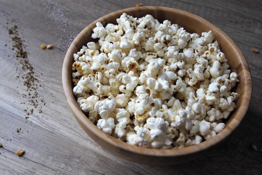 Popcorn mit Meersalz und Za'atar